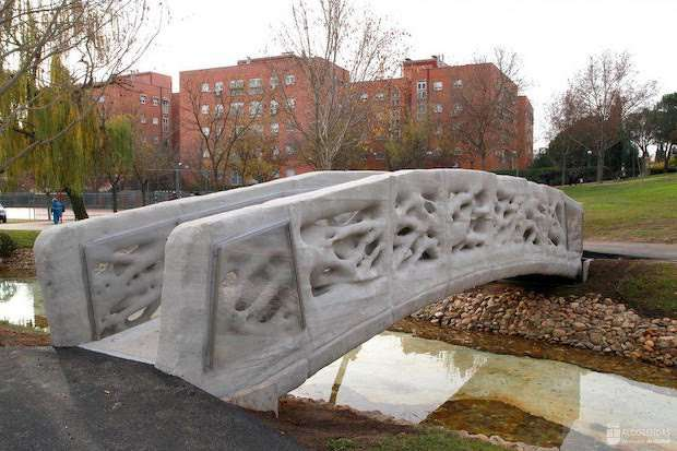 The first 3D-printed bridge in Spain- 3D Printhuset.