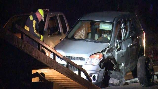 North Carolina Highway Patrol is investigating after a suspected drunk driver hit five construction workers on I-77.