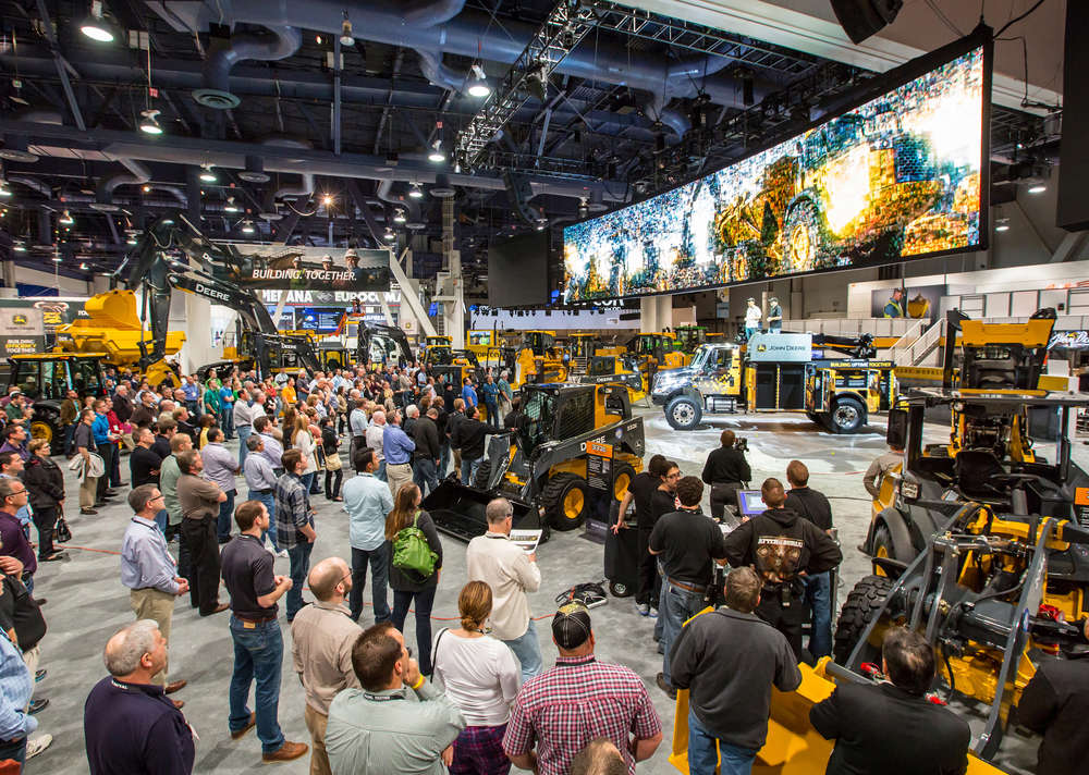 John Deere will highlight its line of equipment, technologies and services at this year's ConExpo-Con/AGG 2017.