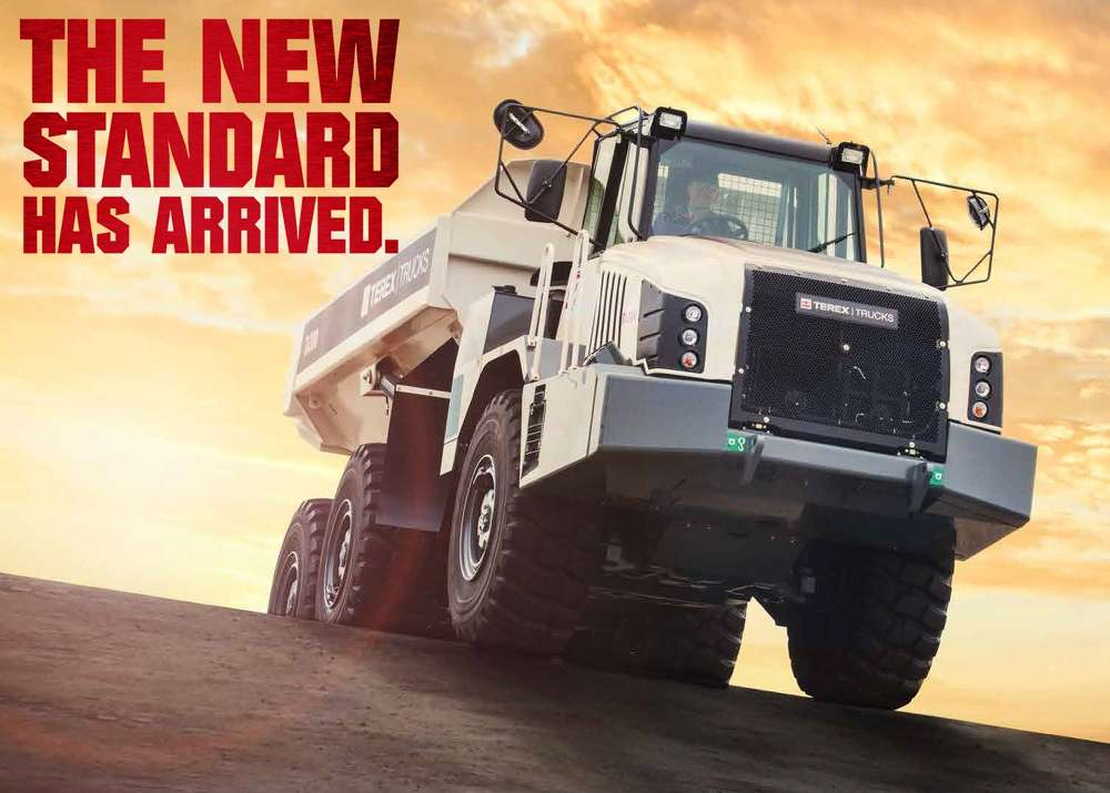 Terex Trucks will be presenting the new line of articulated haulers at ConExpo-ConAgg 2017.