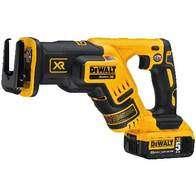 Dewalt 20V MAX XR Compact Reciprocating Saw.