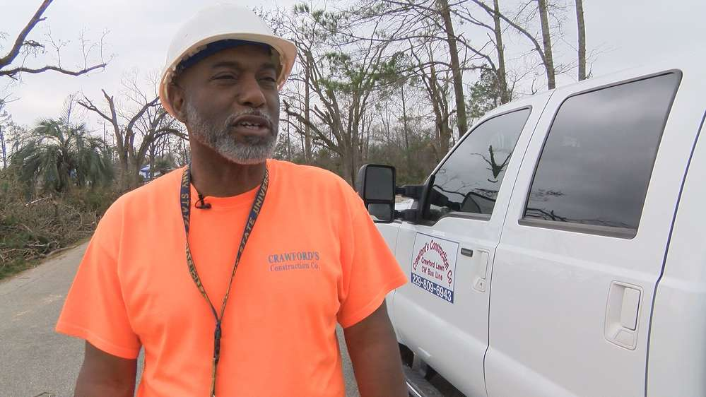 Crawford's Construction owner is Kendell Crawford. (Source: WALB)