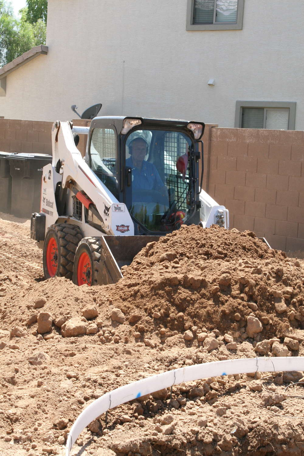 Being level in pool excavation is key to success in that and subsequent areas of the process.