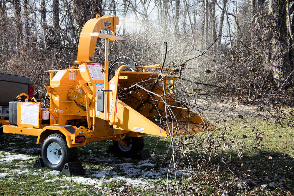 This model 65XP Bandit chipper is a popular choice for customers of Taylor's Rental in Fort Worth, Texas.