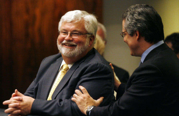 Sen . Jack Latvala, R- Clearwater, has said he'll block any legislation to add government oversight to the Pinellas County Construction Licensing Board. The resignation of the old director and the appointment of a new one is enough for now, he said. But the Pinellas County Commission is set to meet Tuesday to consider a measure aimed at appeasing Latvala's objections. [SCOTT KEELER | Times]