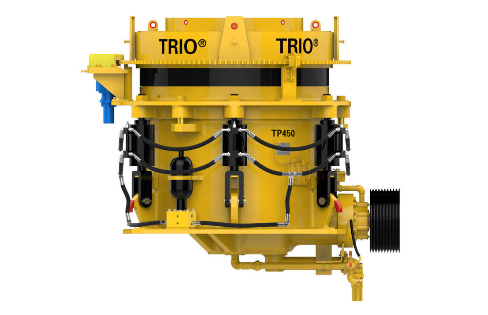 Trio crusher.