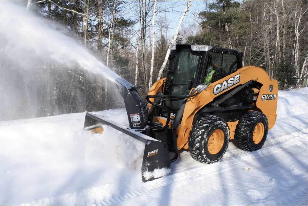 Compact equipment has proven successful in snow removal                             CNH Industrial America