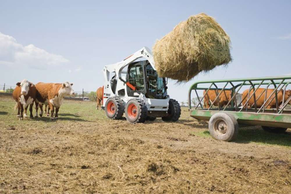 Farm and ranch operators are putting compacts to work		                                     Bobcat Company