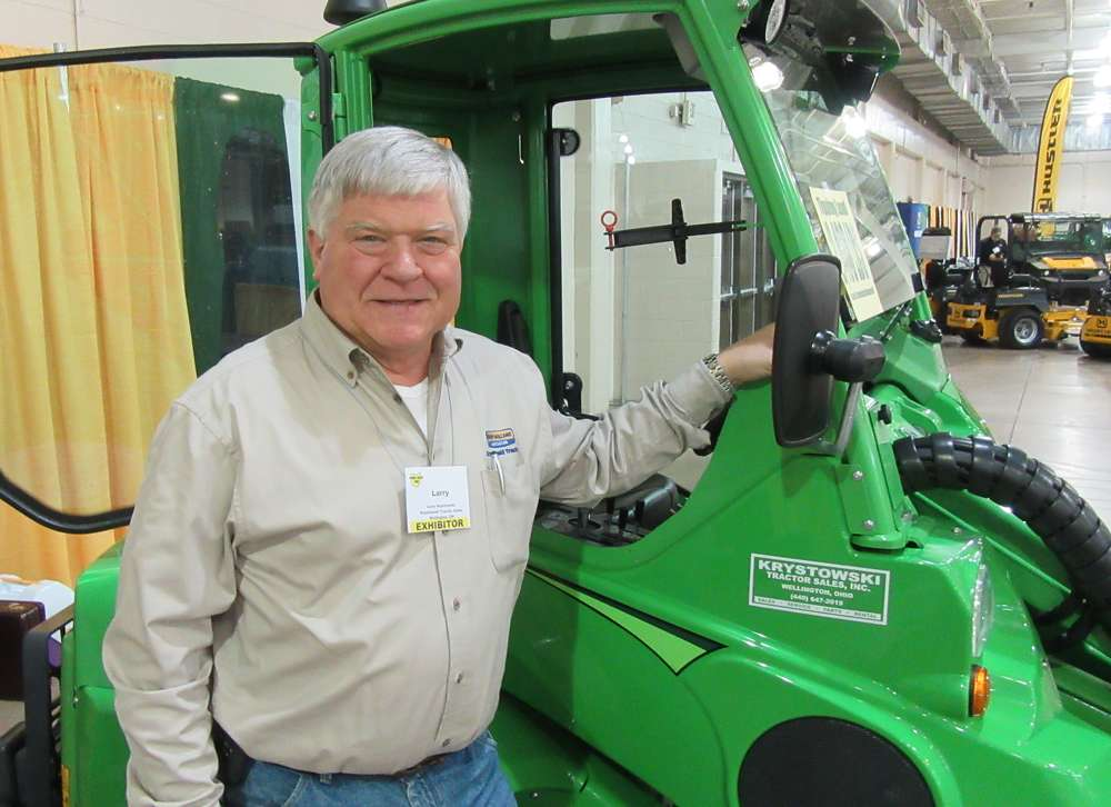 Larry Krystowski of Krystowski Tractor Sales said this Avant 635 compact loader attracted a good deal of attention.