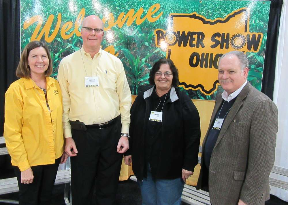 (L-R): Jenny Archibald, Dennis Alford, Marti Smith and Kim Rominger, UEDA, made sure everything ran smoothly at the 2017 Power Show.