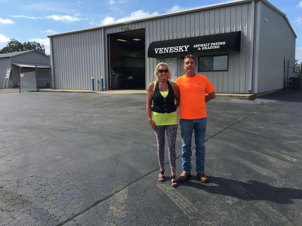 Lynne and Gary Venesky of Venesky Asphalt, Easley, S.C.