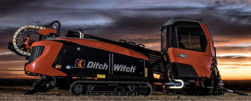 Ditch Witch JT40 directional drill.