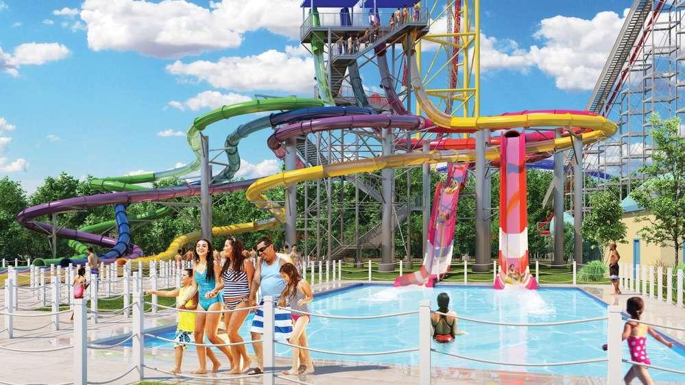 Artist Rendering of Cedar Point's new water park (Courtesy Cedar Point)