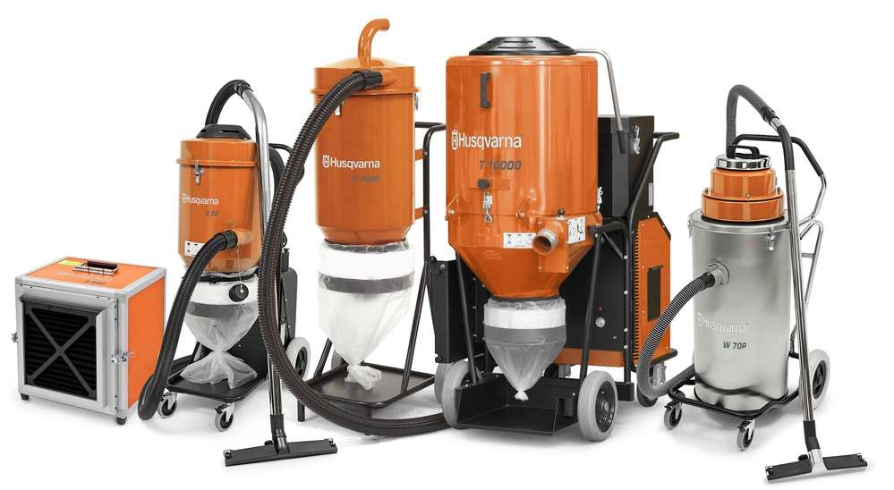 Pullman Ermator products include dust extractor systems, dry/wet vacuums, and air scrubbers.