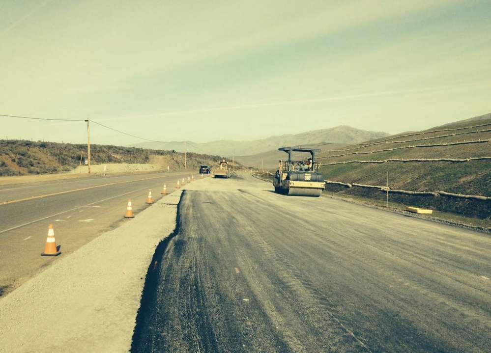 The project area runs along Highway 1 from Point Piedras Blancas to Arroyo De La Cruz Bridge near San Simeon.