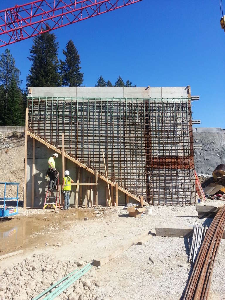 Montana Department of Transportation photo. The project features a new, sturdier bridge on Heron Road.