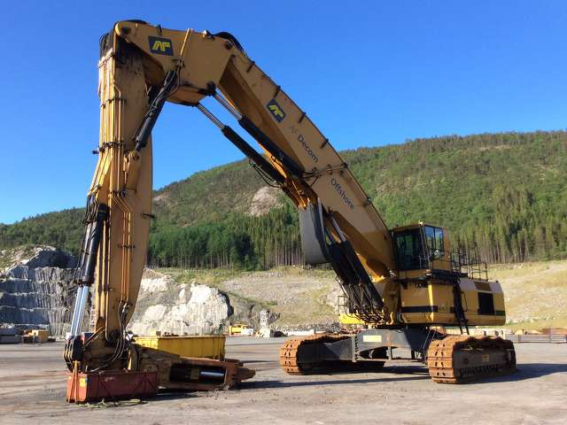 Last summer, a unique 2009 Rusch triple 34-25 long reach demolition track excavator was purchased from Norway by an Arizona-based buyer.