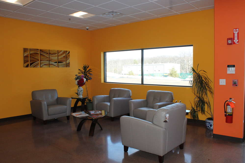 Equipment East provides a comfortable waiting area for all of its customers