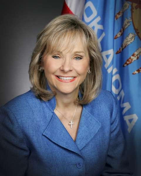 Oklahoma Gov. Mary Fallin.