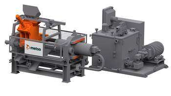 Metso N Series NSP Briquetting Presses can be used independently or integrated into various processing plants regardless of size.