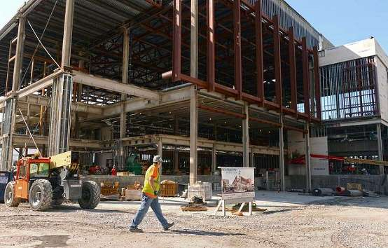 Although construction began last year, the first-ever planning meeting on the project was 18 years ago. The massive construction project hasn't been easy and its had its share of unexpected challenges.