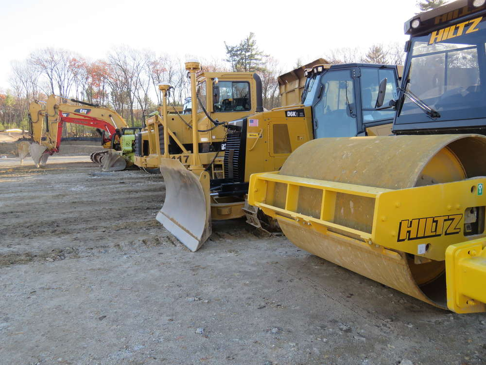 Excavators, dozers and rollers are just a fraction of the equipment Hiltz owns.