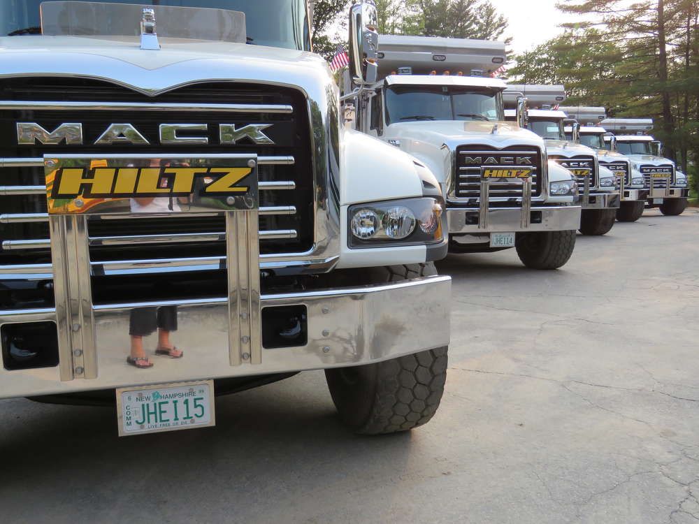 The company fleet includes around 125 pieces of trucks and iron.