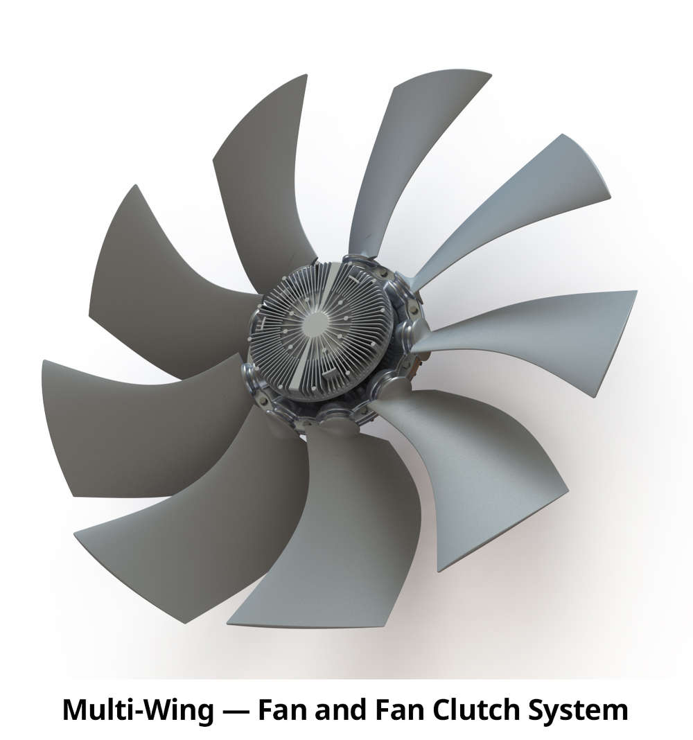 These fan drive systems are ideal for off-highway and stationary equipment.