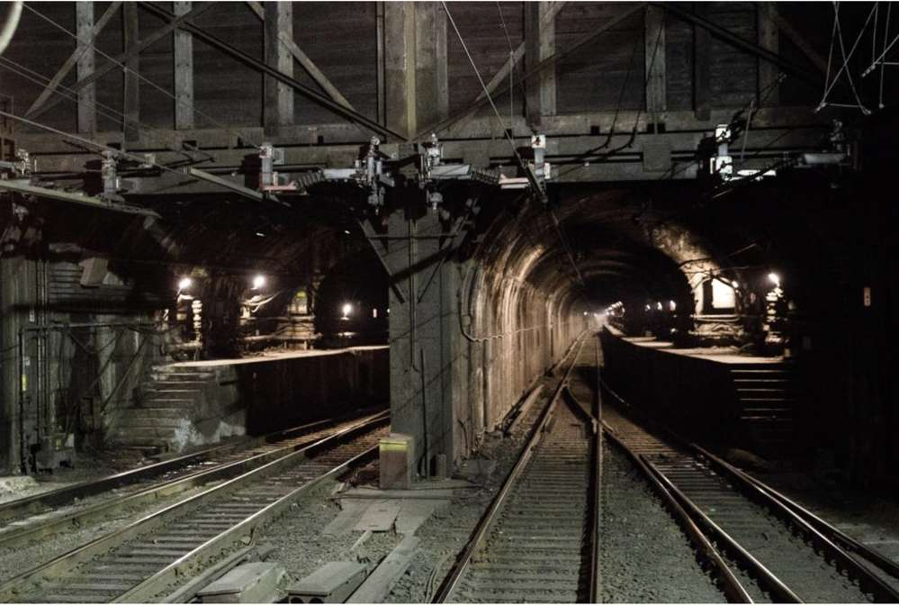The existing North Tunnel will be repaired after the new tunnel is built. Via NEC Amtrak