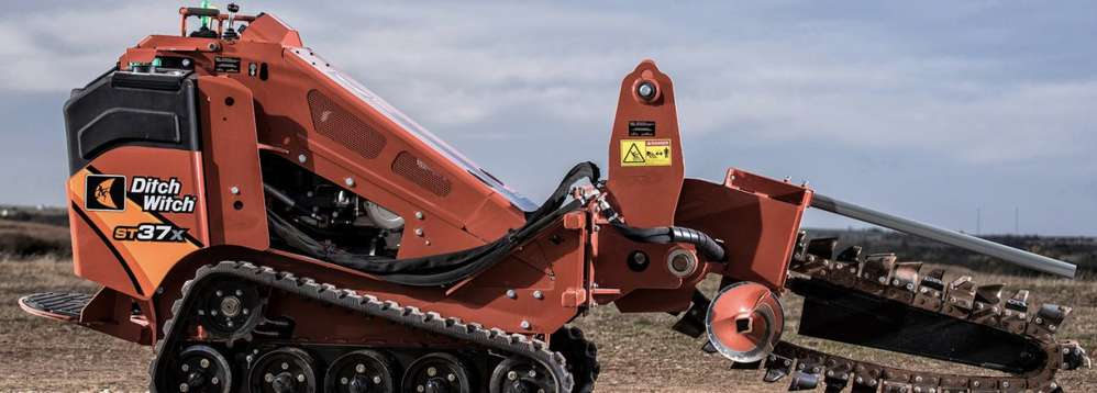 The Ditch Witch ST37X was designed with the hardworking landscape operator in mind.
