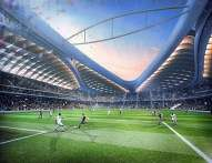 Qatar plans to recycle parts of the stadium after the World Cup to developing nations. http://url.ie/11p0f