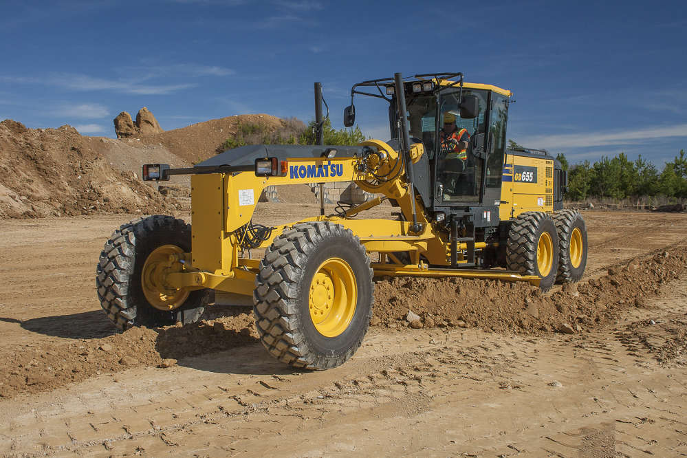 Sand For Sale >> Komatsu Wheel Loader, Motor Grader and Forklift Lines Win 2017 EquipmentWatch Highest Retained ...