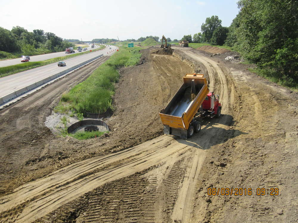 Scheduled to be fully completed in the spring of 2017, crews from Lunda Construction Company are working on the fifth and final section of the Minnesota Department of Transportation's (MnDOT) Highway 610 design-build project that is extending the well-travelled road t