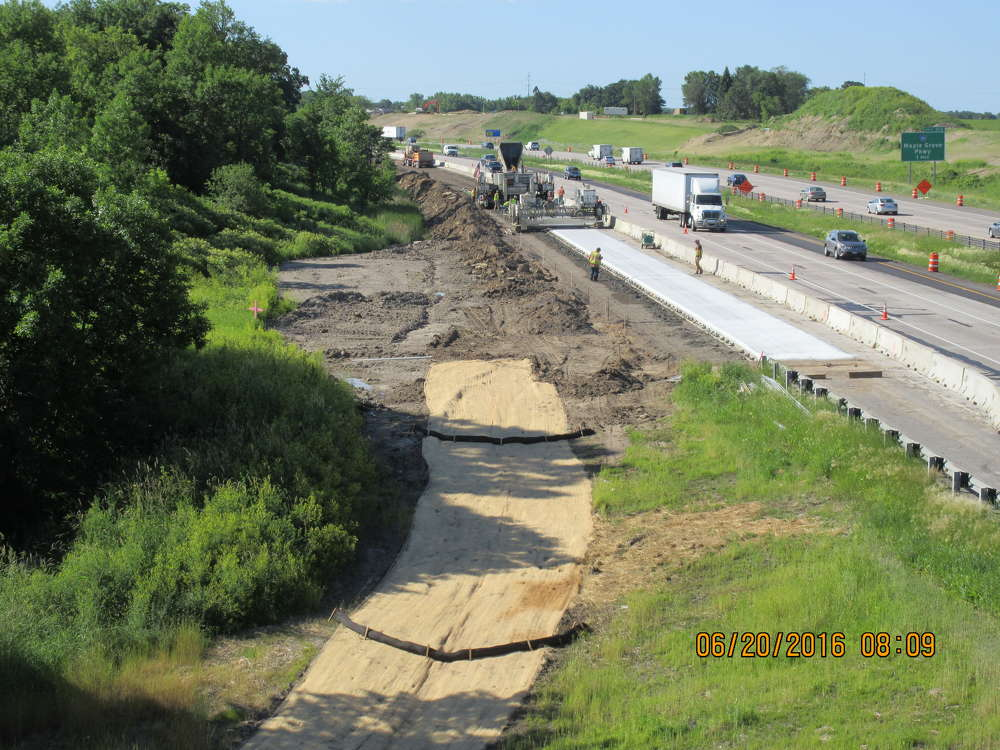 Work began in the fall of 2014 and the goal of the project was to provide a new northern crossing of the Twin Cities Metro area and to relieve some congestion on Interstate 94, a parallel route south of Highway 610.