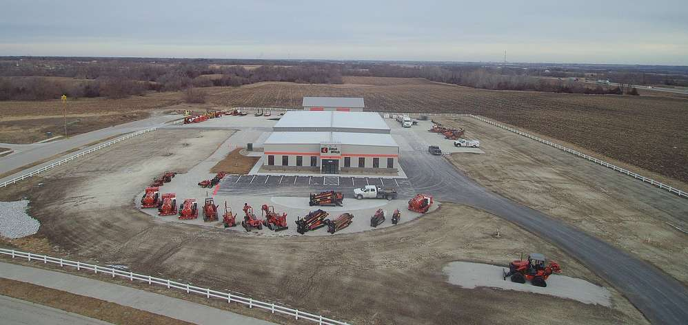 Ditch Witch of Minnesota & Iowa announced the opening of its new branch in Huxley, Iowa, after finishing work on the facility in November 2016.