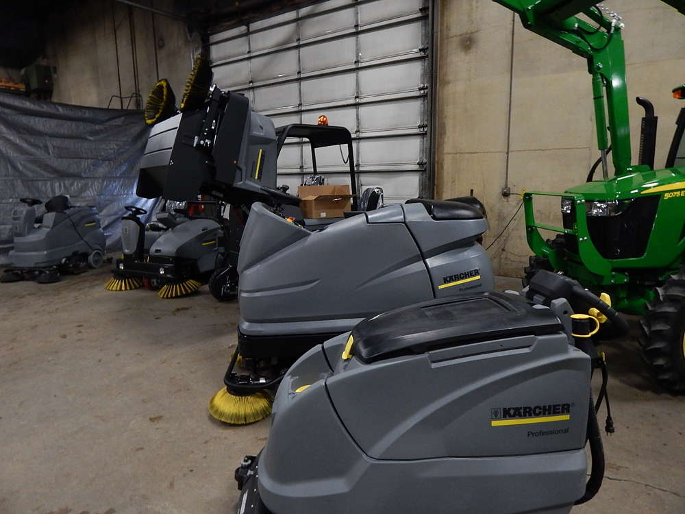 Minnesota Equipment offers the Karcher commercial sweeping and cleaning equipment line.