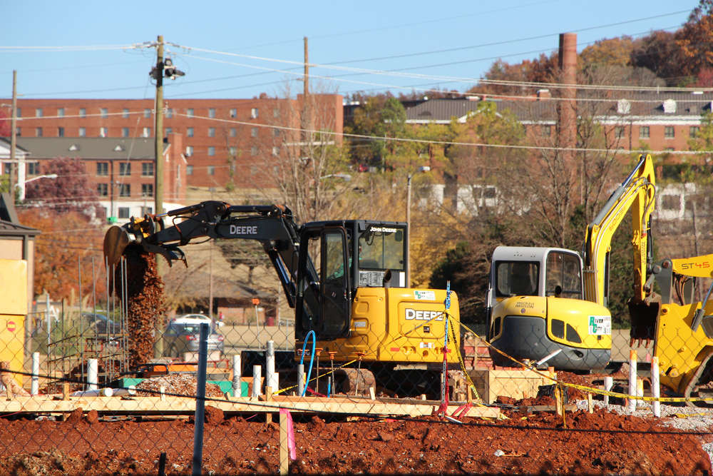 Alabama A&M photo Work is expected to be complete by mid-to-late November 2017.