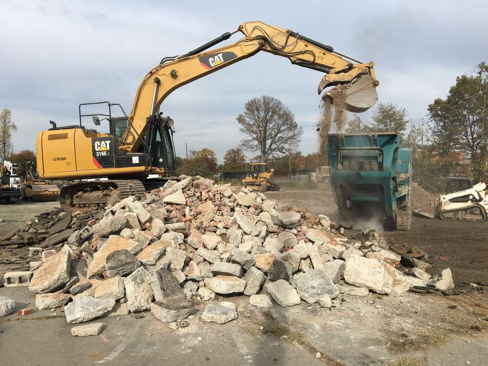 The company accepts solid yard and waste debris, asphalt, untreated wood and dirt from the town of Kernersville and the city of Winston Salem, N.C.