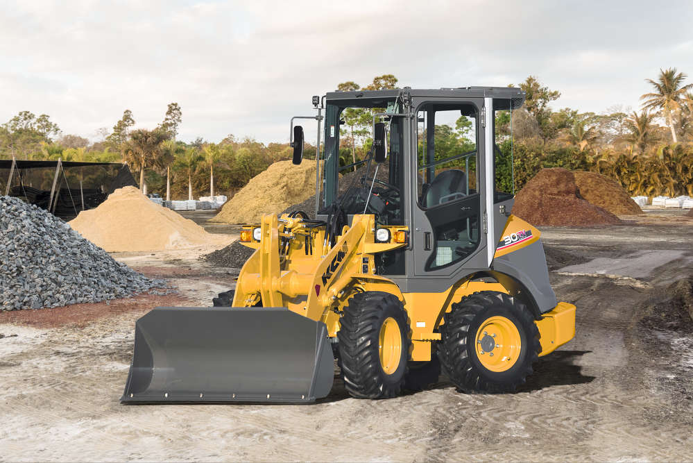 KCM is introducing four wheel loaders at ConExpo 2017, including the 30ZV-2 (.52 cu. yd./ 30 hp) the compact wheel loader.