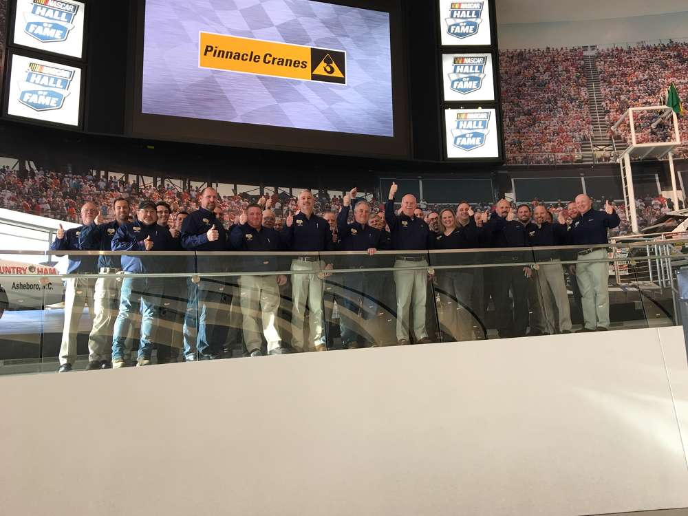Pinnacle Cranes hosted its Diamond Product Support Program at the NASCAR Hall of Fame on Feb. 9.
