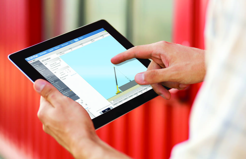 A1A Software will make their crane lift planning tool compatible for use on tablets.
