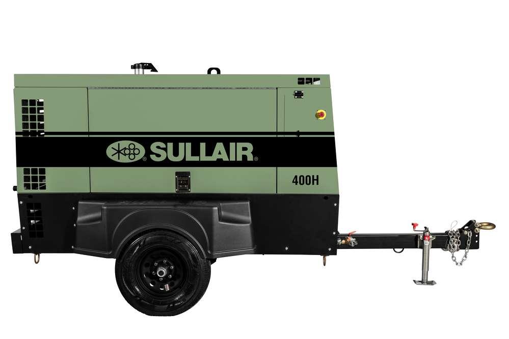 Sullair introduced its new 400H Tier 4 Final portable air compressor at ConExpo-Con/Agg 2017.