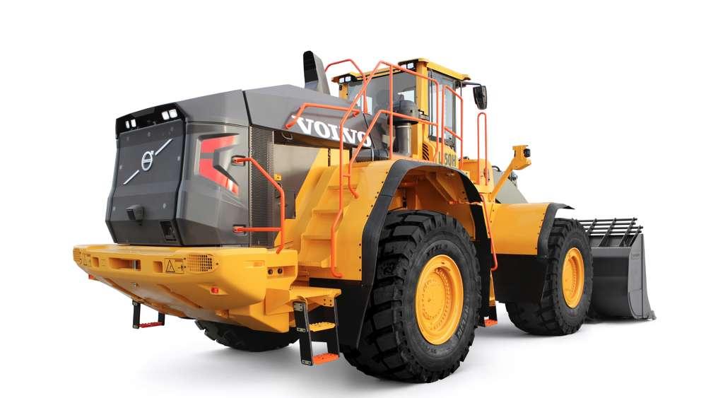 Volvo L350H wheel loader.