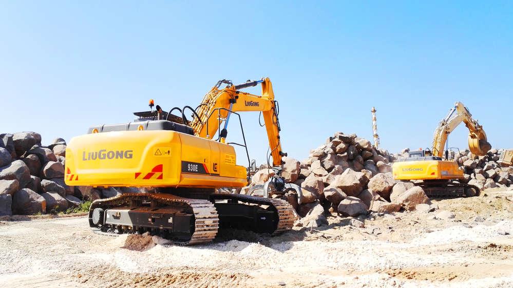LiuGong 930E excavator.