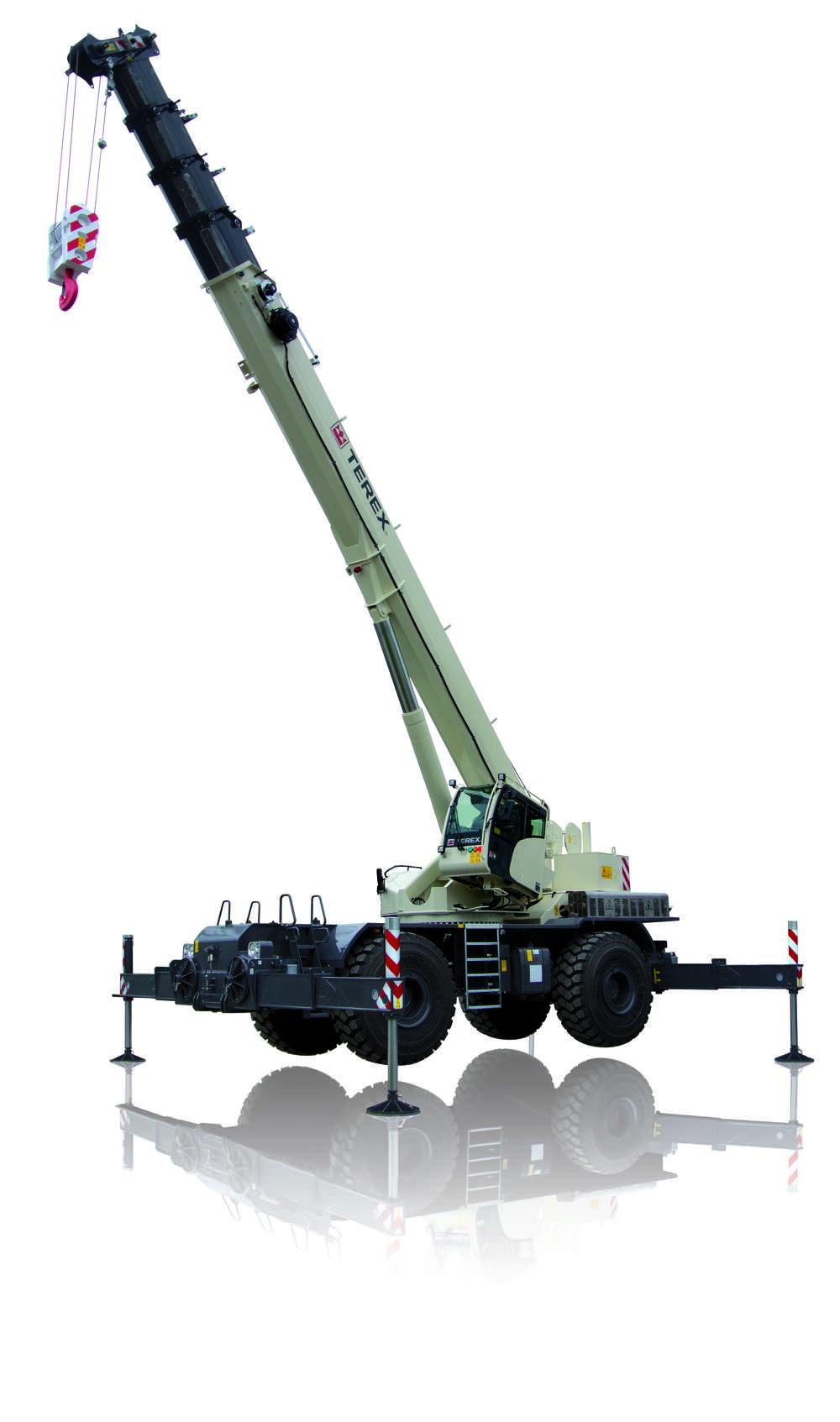Parts Of A Rough Terrain Crane : Terex introduces new rt us rough terrain crane story