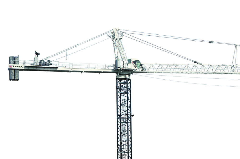 Tower Crane Guide : Introducing the terex sk hammerhead tower crane