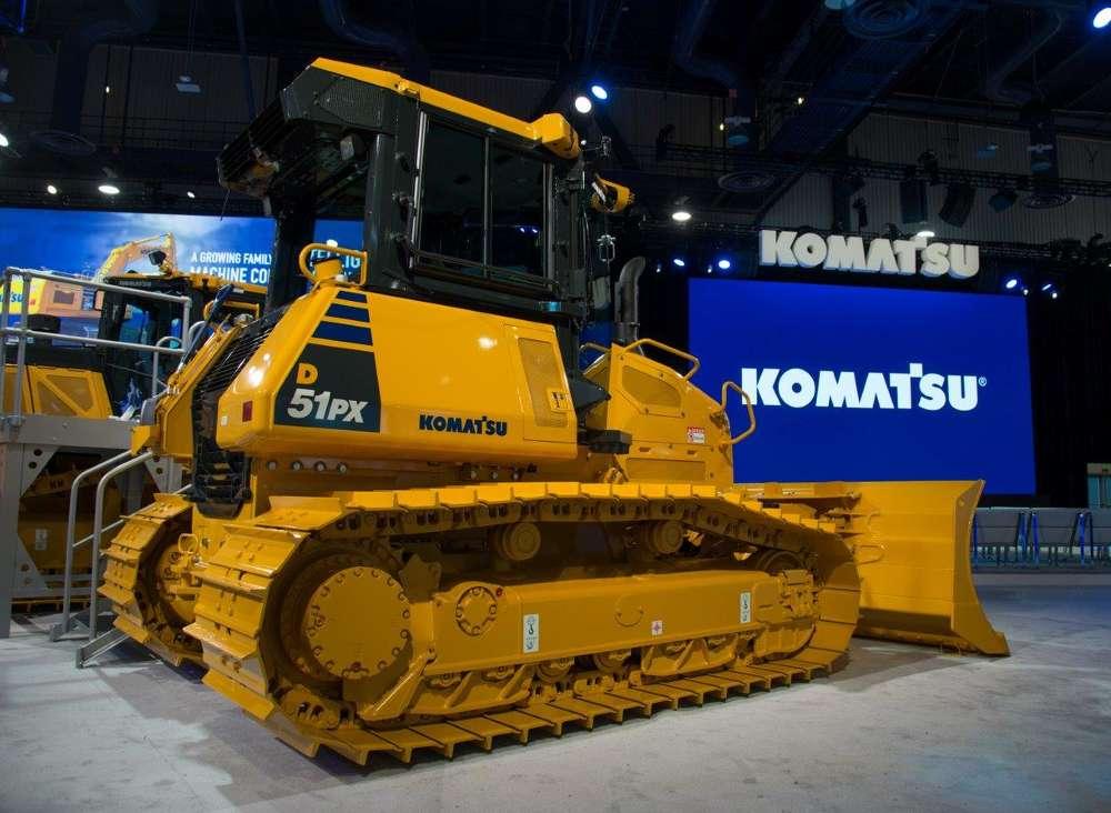 Komatsu D51 EX/PX-24 Crawler Dozer.