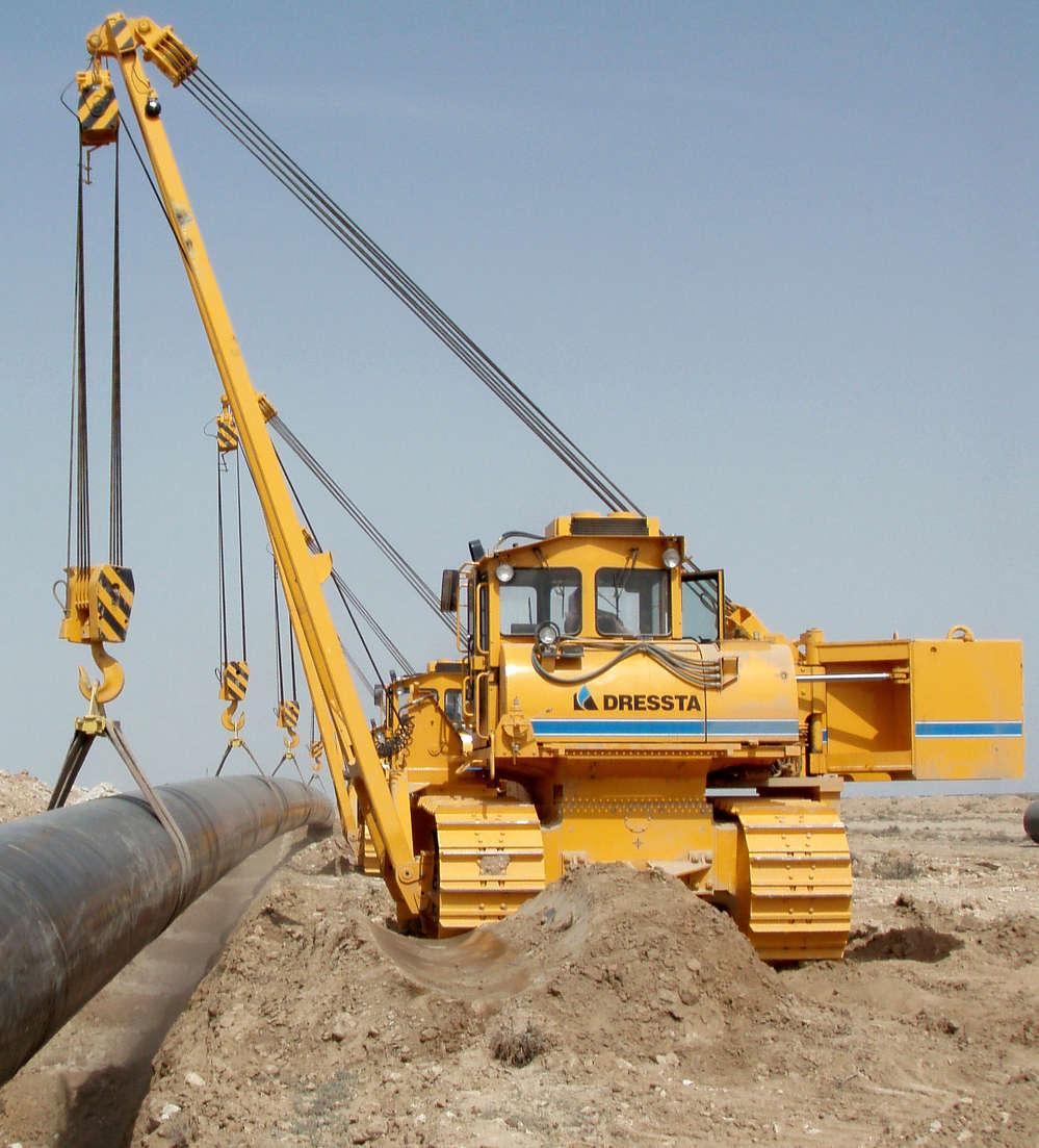 ressta SB-85 pipelayer
