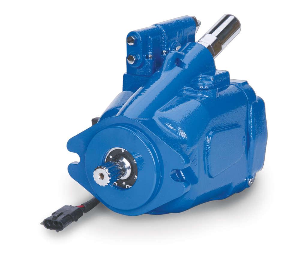 Eaton X20 piston pump.