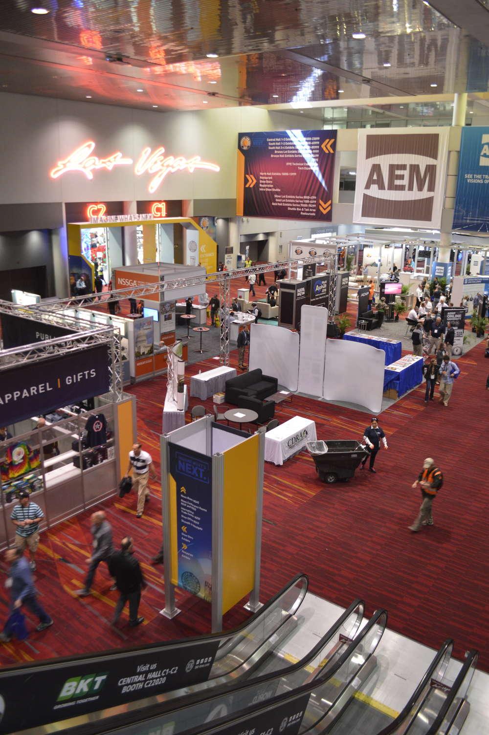 AEM booth at ConExpo-Con/AGG 2017.